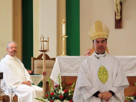 Bishop Oscar Cantú, leader of the Las Cruces Catholic