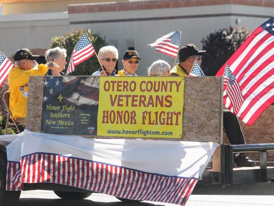 Otero County veterans who flew on the Honor Flight