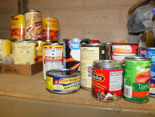 he Alamogordo Salvation Army food bank is currently stocked with non-perishable foods and other food items. The organization is seeking more donations to feed low income families this Christmas season.
