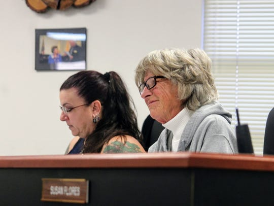 County Commissioners Janet White and Lori Bies agreed