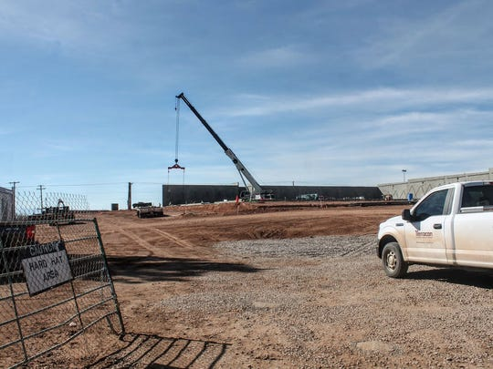The Alamogordo Hobby Lobby will be housed in a 55,000 square foot building south of J.C. Penney and will be a stand-alone store.
