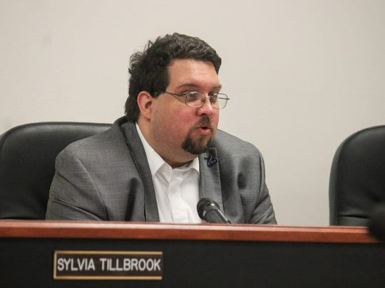 Otero County Attorney Michael Eshleman provided background information on right-to-work laws at Thursday's Otero County Commission meeting.