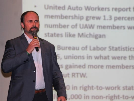 Americans for Prosperity State Director Burly Cain,