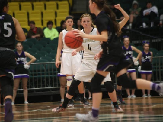 Lehi upset Desert Hills, 45-41, in the 4A state quarterfinals.