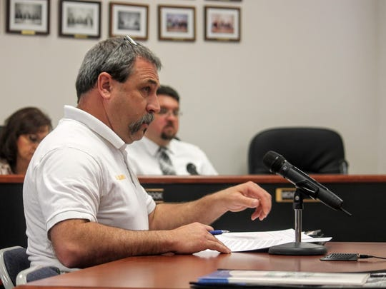 County Emergency Services Director Paul Quairoli requested