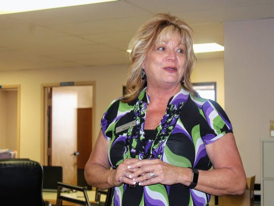 Otero County Clerk Robyn Holmes thanks all the candidates