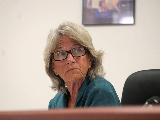 County Commissioner Janet White agreed to schedule