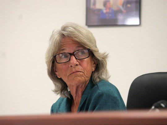 County Commissioner Janet White agreed to schedule both fireworks and Animal Control public hearings the same day on May 2 at the county's regular Otero County Commission meeting last Thursday.