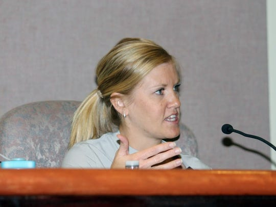 City Manager Maggie Paluch updated City Commissioners