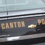 Canton Police cruiser