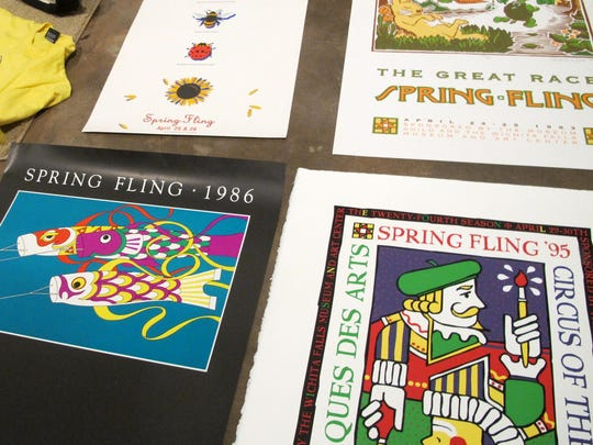 """From 1972 to 2002, the Wichita Falls Museum of Art was the home of the Spring Fling arts festival. """"Spring Fling Remembered,"""" an exhibit opening April 22 at the museum, features artwork purchased at the event, as well as posters. It opens in conjunction with Spring Fever, an event that will include live performances, food trucks and children's activities on the museum grounds."""