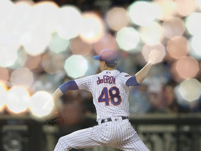 Sept. 26: Jacob deGrom, Mets, 10 vs. Braves.
