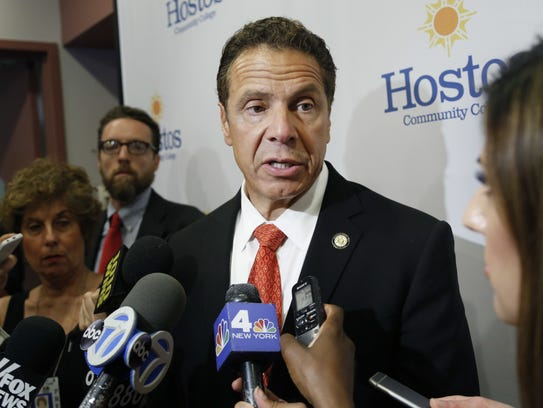 Governor Andrew Cuomo said the state will blunt the