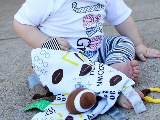 The modern design of Baby Jack Learning Loveys mean