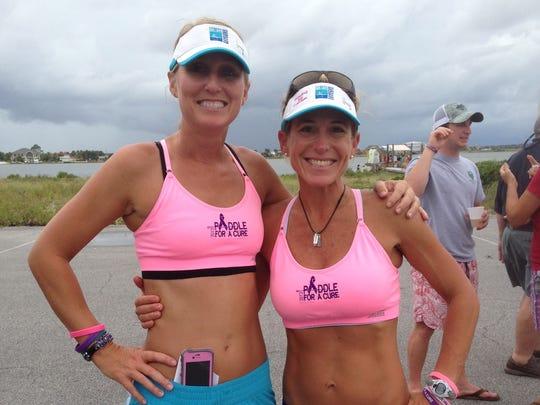 Heather DePew and Cindi Bonner.