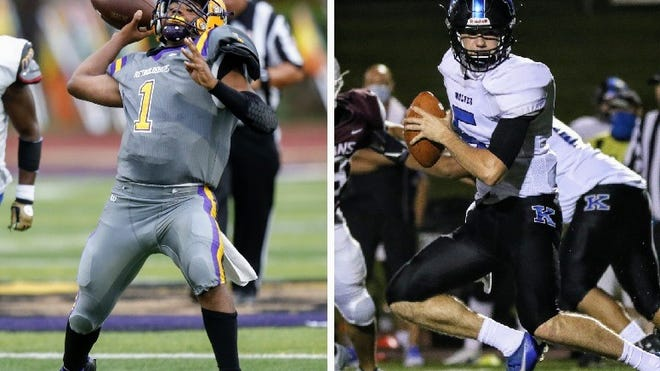 Reynoldsburg's Dijon Jennings and Worthington Kilbourne's Mitchell Tomasek share our Player of the Week honors for Week 1.