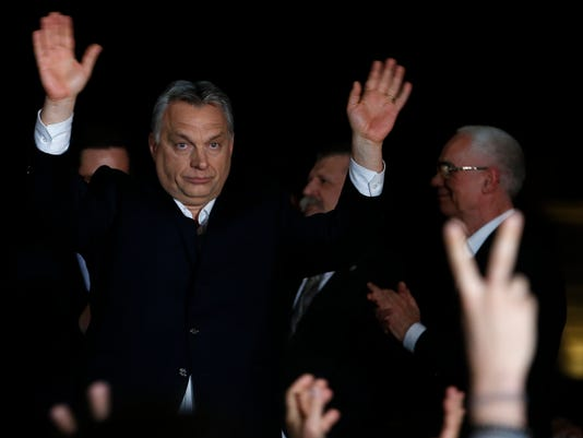 AP HUNGARY ELECTIONS I HUN