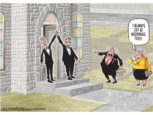 Same-sex marriage affirmed!
