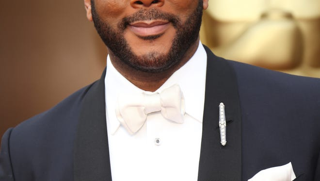 Tyler Perry, seen at the 86th annual Academy Awards.