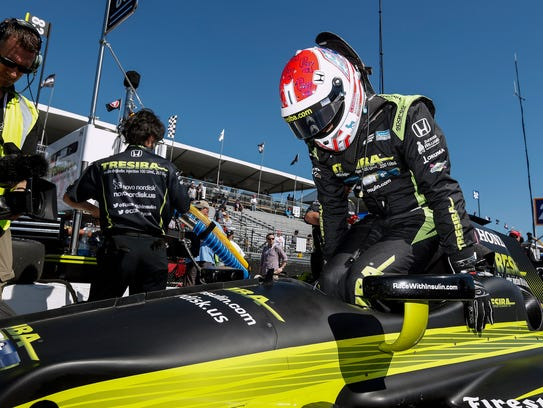 Charlie Kimball is the first winning IndyCar Series