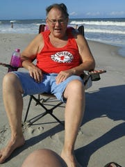 Delbert Blare helped rescue a drowning man from the ocean at Spessard Holland Park in Melbourne Beach.