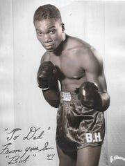 As a young man, Robert Harris Jr. served in the U.S. Army in Korea. He became a Golden Glove boxer and Army Olympic Welterweight Champion of the Pacific.