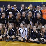 Lakeland volleyball won its seventh straight division title.