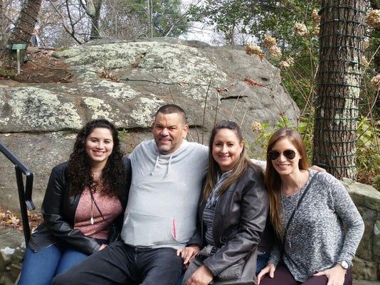 Maria Cristina Ortiz Ildefonso and her family