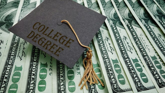 According to their Project on Student Debt, 68% of 2015 bachelor's degree recipients graduated with student loan debt. The average was $30,100 per borrower.