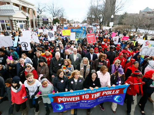 Women's March on New Jersey
