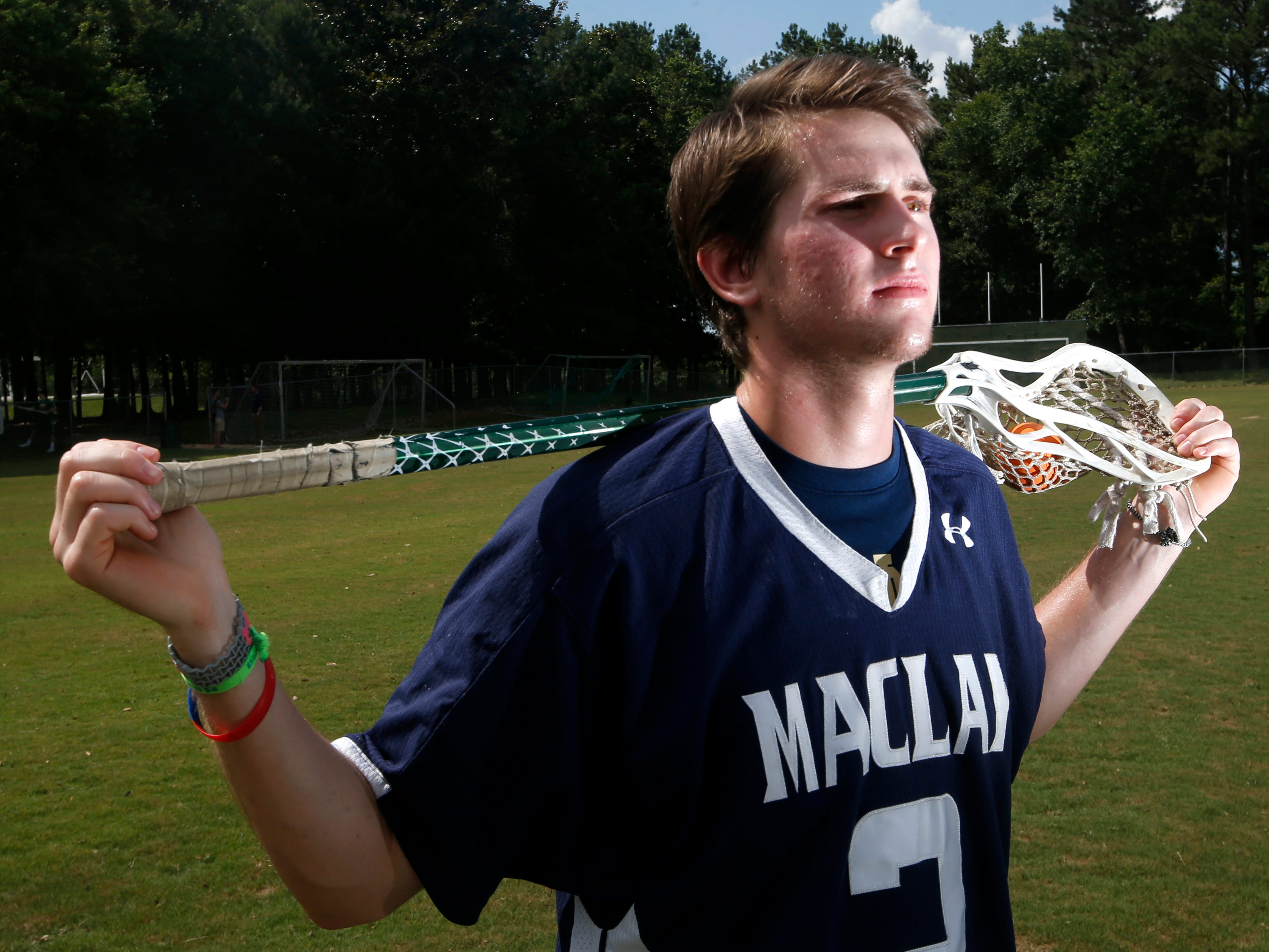 Stephen Chase, Maclay High School - Lacrosse All-Big Bend Athlete of the Year.