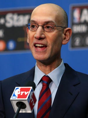 NBA commissioner Adam Silver could have an interesting battle on his hands with the players union.