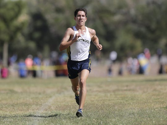 Eastwood's Daniel Bernal ended the track and field