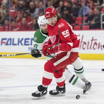 Wings' Bertuzzi makes big impact with 'little plays'