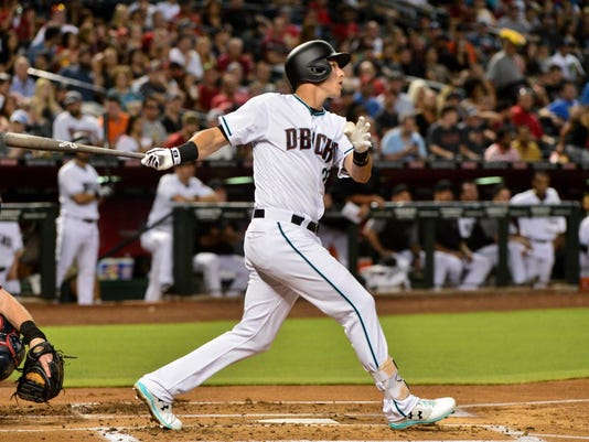 USP MLB: WASHINGTON NATIONALS AT ARIZONA DIAMONDBA S BBN ARI WAS USA AZ