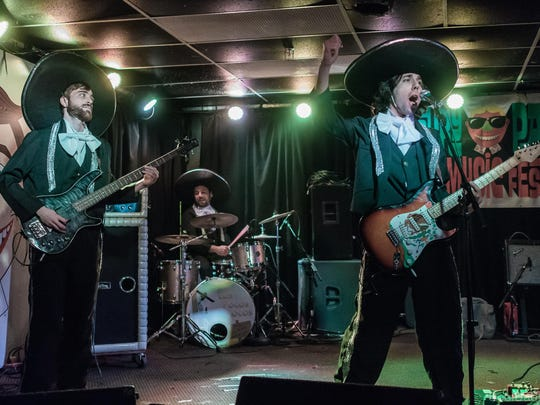 Asbury Park-based Los Pocos Locos are among the artists playing the Asbury Park Surf Music Festival.