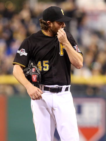 Gerrit Cole gave up four runs in five innings of work