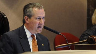 House Speaker Mike Hubbard, R-Auburn, seen in this file photo, was elected to a second term as House Speaker Tuesday.