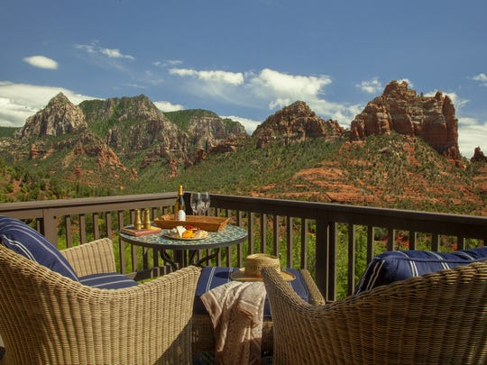 L'Auberge de Sedona was voted top resort in the American Southwest in Conde Nast Traveler's 2016 Readers Choice Awards.