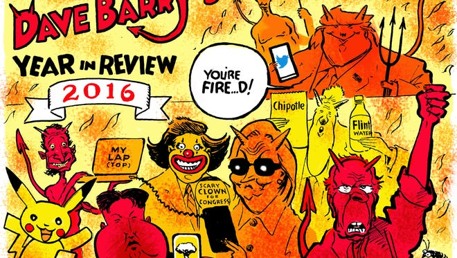 Dave Barry's Year in Review, 2016.
