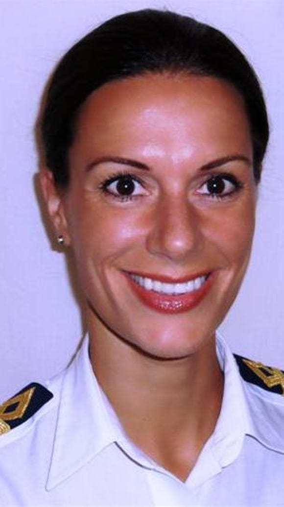 Kate McCue, 37, of San Francisco is the first American