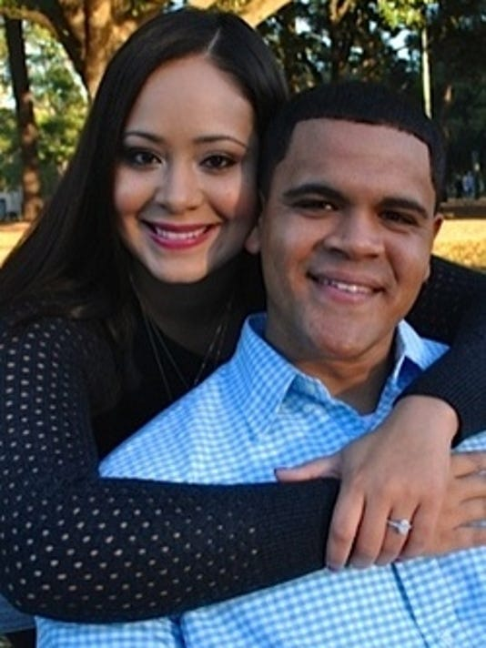 Engagements: Angie Isidore & Brian Guillory