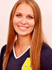 SC4 volleyball player Kendall Stoll