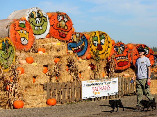 Bauman's Harvest Festival has more than 25 activities for kids of all ages at Bauman's Farm & Garden in Gervais.