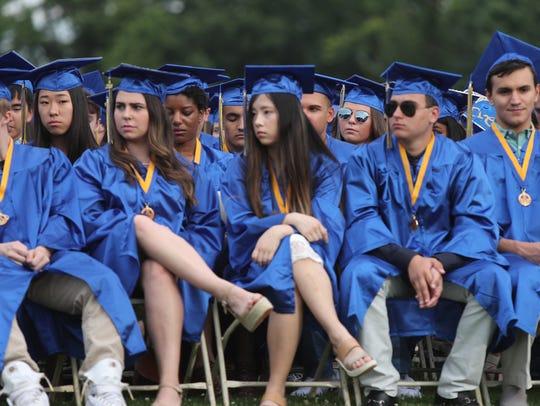 Ardsley High School holds their graduation ceremony