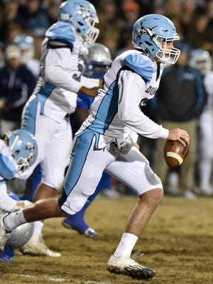 Byrnes hosts Dorman in the 4A Division I state semifinal football game Friday, December 4, 2015.