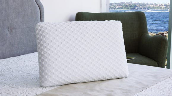 Stop sleeping on your gross, old pillow—this memory foam pillow is on sale right now