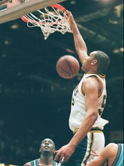 Ryan Blackwell was named a Parade All-American as a senior and All-Greater Rochester Player of the Year for a second time in 1995.