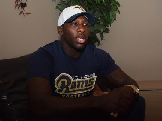 Former Alexandria Senior High and Northwestern State cornerback Imoan Claiborne discusses his late-blooming journey to NFL free agency with the St. Louis Rams.