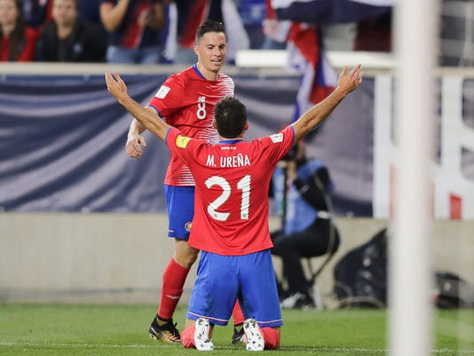 the best attitude 72113 f86ee World Cup qualifer: USMNT falls to Costa Rica in New Jersey